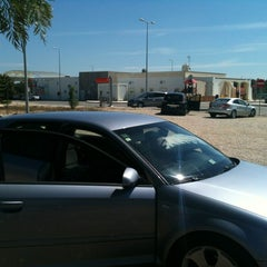 Photo taken at Área de Serviço de Salvaterra de Magos by Michael O. on 8/18/2012