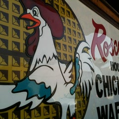 Photo taken at Roscoe's House of Chicken and Waffles by ModBetty R. on 5/19/2012