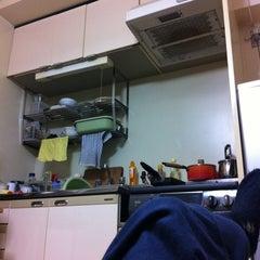 Photo taken at ファミリーマート 南住吉店 by Kazuo U. on 4/20/2012