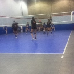 Photo taken at Volleyball Institute of Plano by Lauren K. on 4/28/2012
