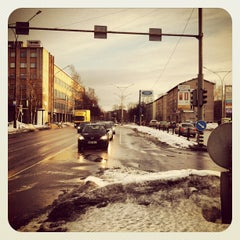 Photo taken at Kalevi peatus by Vitali K. on 3/1/2012