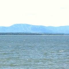 Photo taken at La Plage by Manuel D. on 7/11/2012