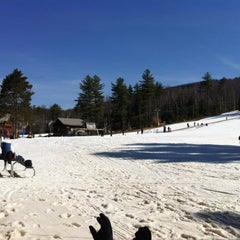 Photo taken at Cranmore Mountain Resort by Nic B. on 3/18/2012