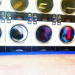 Photo taken at Laundry Station 24/7 by adrienne d. on 9/7/2012