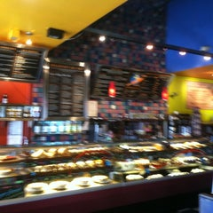 Photo taken at Flying Star Café by Becky S. on 6/28/2012