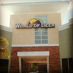 Photo taken at World of Beer by Nicky H. on 6/10/2012