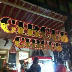 Photo taken at Circus Circus Cafe by Rachel B. on 2/18/2012