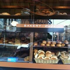 Photo taken at Mazzola Bakery by Melinda Rivera 💋 on 2/17/2012