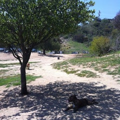 Photo taken at Laurel Canyon Dog Park by Jessica J. on 4/22/2012
