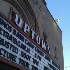Photo taken at Uptown Theatre by Joe S. on 4/13/2012