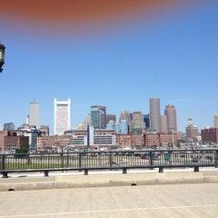 Photo taken at MBTA World Trade Center Station by Carol K. on 7/8/2012
