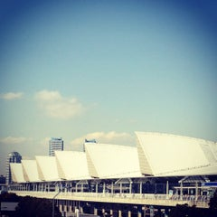 Photo taken at パシフィコ横浜 (PACIFICO YOKOHAMA) by sasavo on 2/10/2012