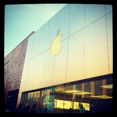 Photo taken at Apple Store, The Domain by knot a. on 6/30/2012