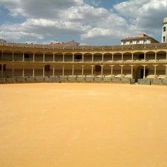 Photo taken at Plaza de Toros de Ronda by Andrew W. on 6/17/2012