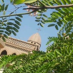Photo taken at St. Mark's Church | كنيسة مارمرقس by Bishoy J. on 7/7/2012