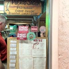Photo taken at Puerto Sagua Restaurant by Krishen G. on 3/20/2012