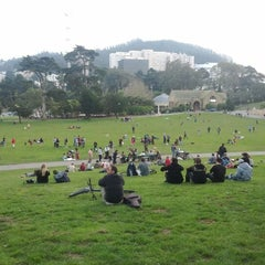 Photo taken at Hippie Hill by Taylor M. on 2/4/2012