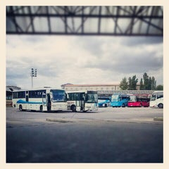 Photo taken at Autobuska stanica Subotica by Ivana P. on 8/11/2012
