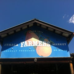 Photo taken at Ithaca Farmers Market by Melissa on 7/1/2012