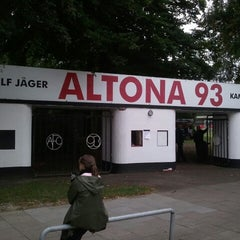 Photo taken at Altonaer Fussball Club von 1893 e.V. by baneu on 8/24/2012