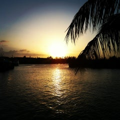 Photo taken at Port Lucaya Marina by Anders F. on 3/11/2012