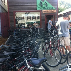 Photo taken at Acadia Bike Rentals by Andrew T. on 8/14/2012