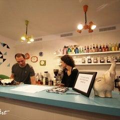 Photo taken at Cafe Roskosz by Piter on 2/18/2012