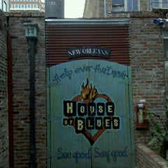 Photo taken at House of Blues New Orleans by Klaus P. on 2/20/2012