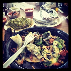 Photo taken at La Super-Rica Taqueria by Alex on 4/2/2012