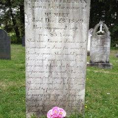 Photo taken at Stockbridge Cemetery by Pete W. on 4/30/2012