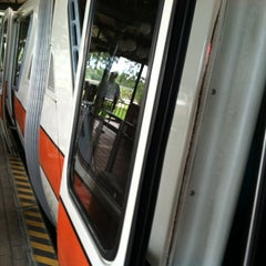 Photo taken at Monorail Orange by Jason G. on 7/30/2012