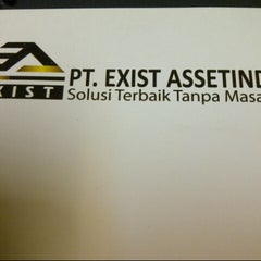 Photo taken at PT. Exist Assetindo by Arief P. on 7/16/2012