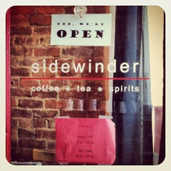 Photo taken at Sidewinder Coffee + Tea by Christian H. on 2/17/2012