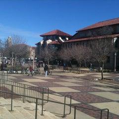 Photo taken at TTU - SUB - West Plaza by Darlene C. on 2/14/2012