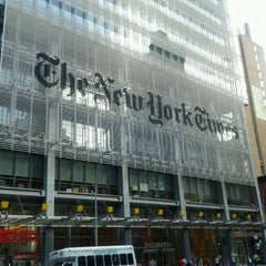 Photo taken at New York Times Building by Jennifer L. on 8/26/2012