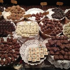 Photo taken at Львівська майстерня шоколаду / Lviv Handmade Chocolate by Anna 🌸 on 8/22/2012