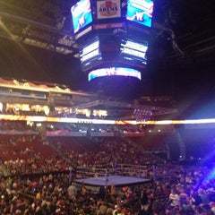 Photo taken at Wells Fargo Arena by Crystal V. on 9/2/2012