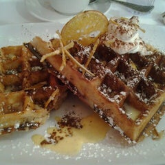 Photo taken at Waffles by Ana M. on 6/24/2012