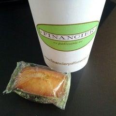 Photo taken at Financier Patisserie by Eugene Y. on 3/5/2012
