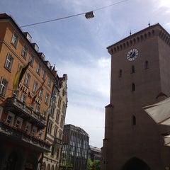 Photo taken at Riva Bar & Pizzeria by Yulia P. on 4/30/2012