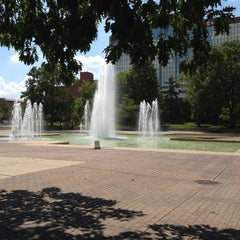 Photo taken at Freimann Square by Eric on 7/10/2012