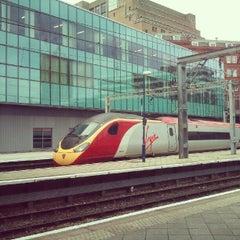 Photo taken at Birmingham New Street Railway Station (BHM) by James M. on 6/14/2012