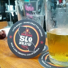 Photo taken at SLO Brew by Brian E. on 8/18/2012