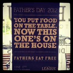 Photo taken at The League Kitchen & Tavern by Joseph V. on 5/23/2012