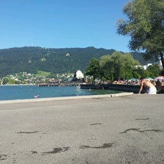 Photo taken at Strandbad Bregenz by Roger K. on 8/19/2012