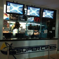 Photo taken at Super Cines - Puente Real by Alejandro M. on 4/9/2012