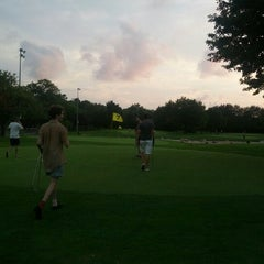 Photo taken at Flushing Meadows Pitch & Putt by Sam D. on 8/4/2012