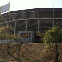 Photo taken at Sun Devil Stadium by JB P. on 3/9/2012