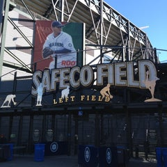 Photo taken at Safeco Field by Sterling S. on 8/31/2012