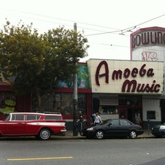 Photo taken at Amoeba San Francisco by Paolo P. on 6/2/2012